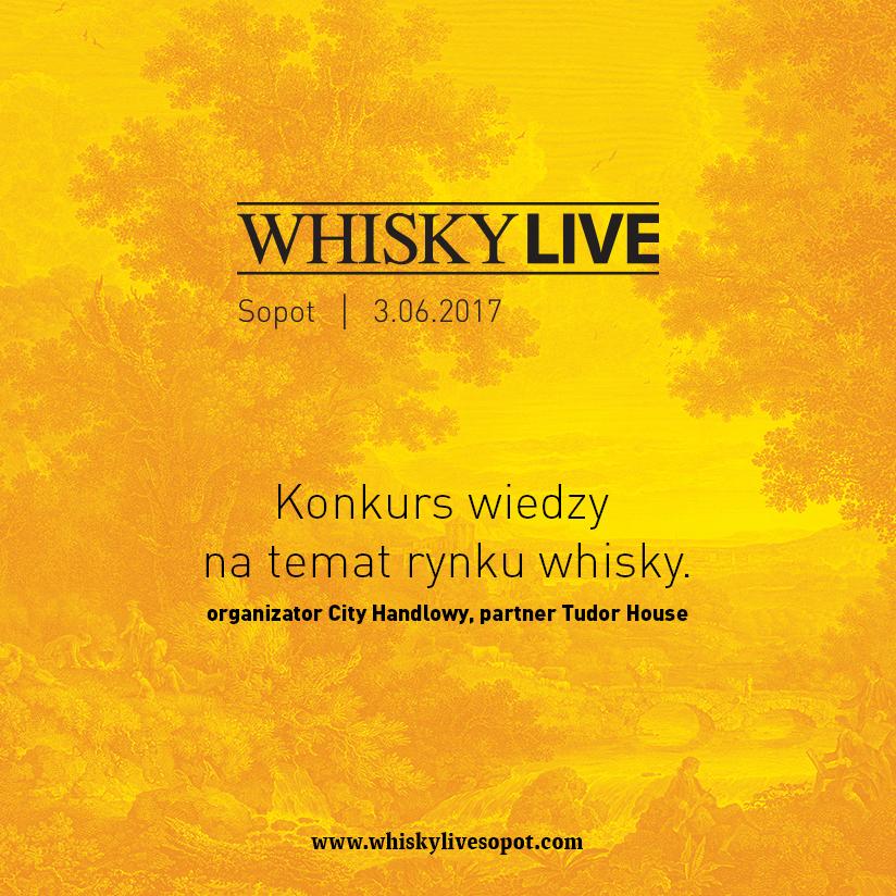 Konkurs wiedzy na temat rynku whisky