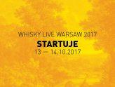 Whisky Live Warsaw startuje!