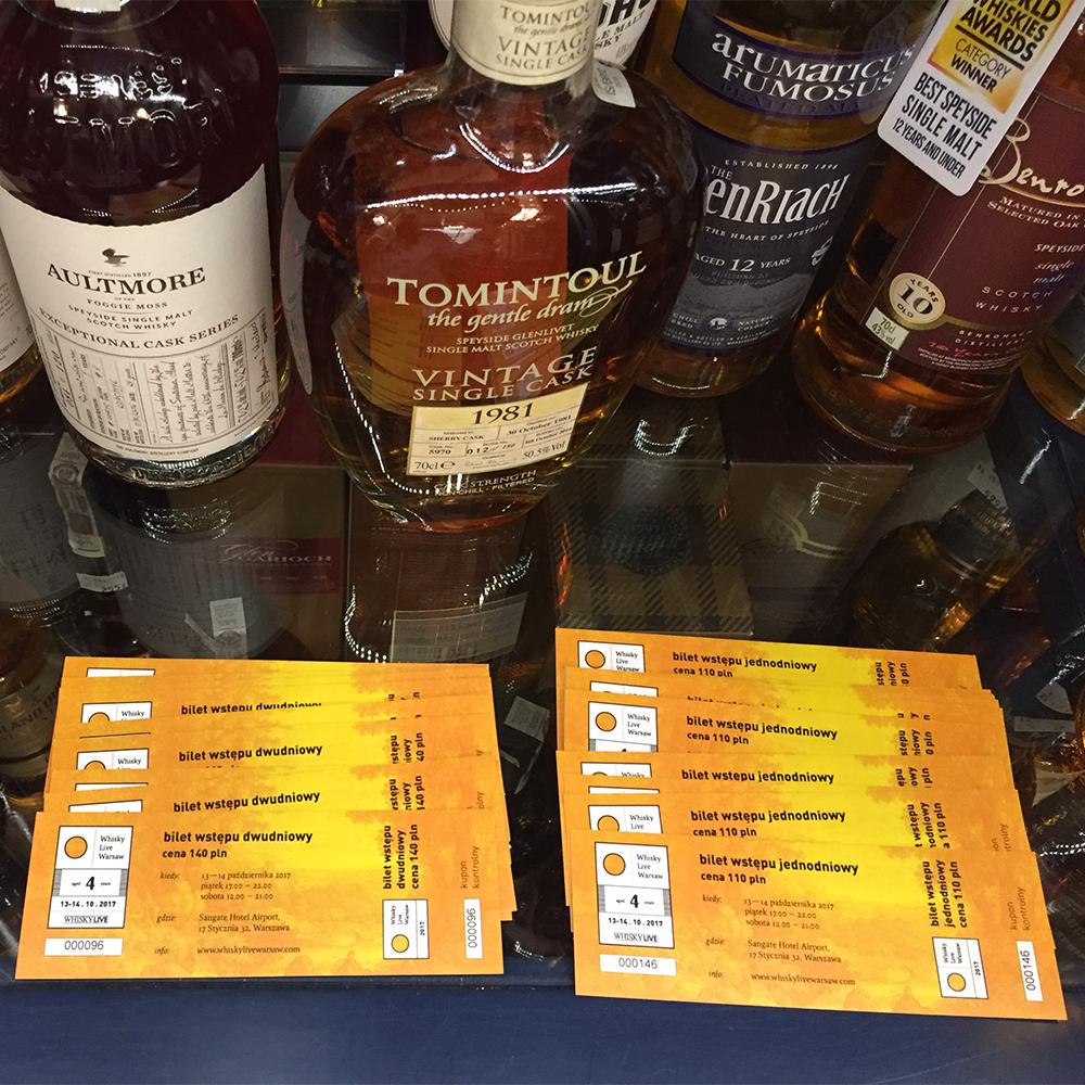 BILETY STACJONARNIE — Whisky Live Warsaw 2017