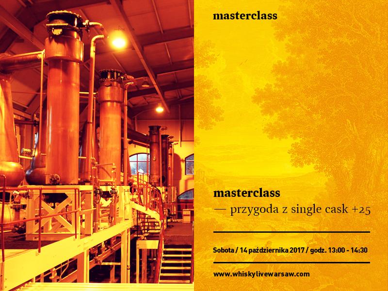 """Bilety na Masterclass: """"Przygoda z single cask 25+"""""""