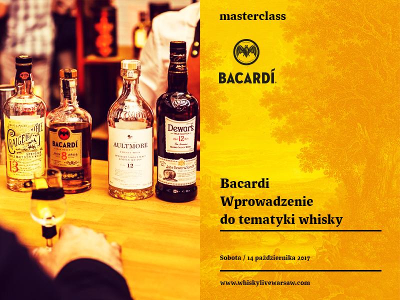Masterclass: Wprowadzenie to tematyki Whisky (Whisky 101)