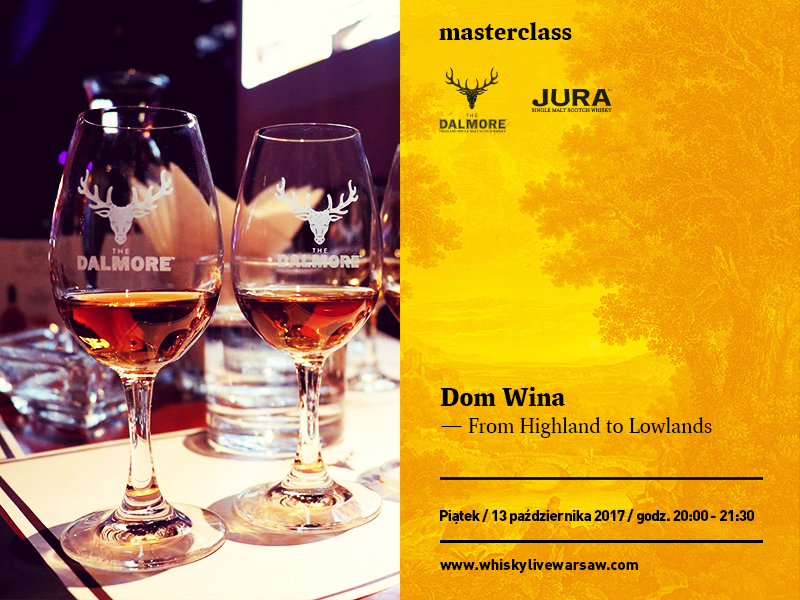 Masterclass Dom Wina: From Highland to Lowlands