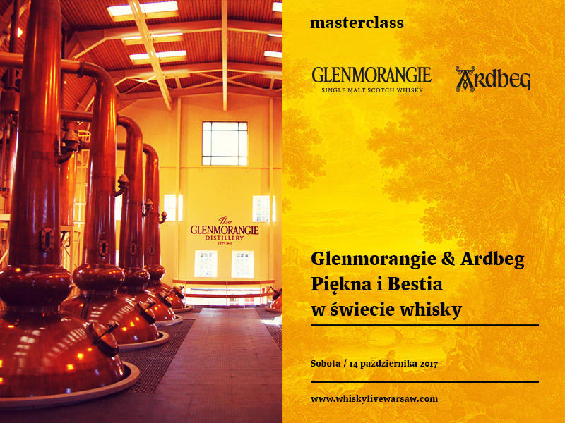 Bilety na masterclass: Glenmorangie & Ardbeg