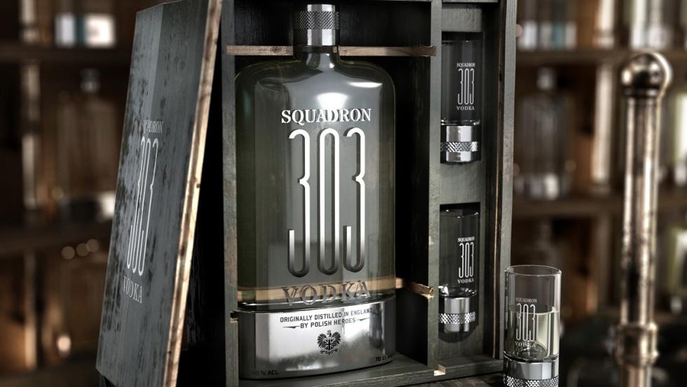 Wódka z historią w tle. Premiera wódki Squadron 303 (Dywizjon 303) na polskim rynku - Informacja prasowa