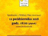 Spotkanie z Mikkey Dee w piątek o godz. 18.00
