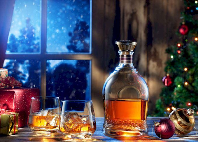 Whisky na świątecznym stole