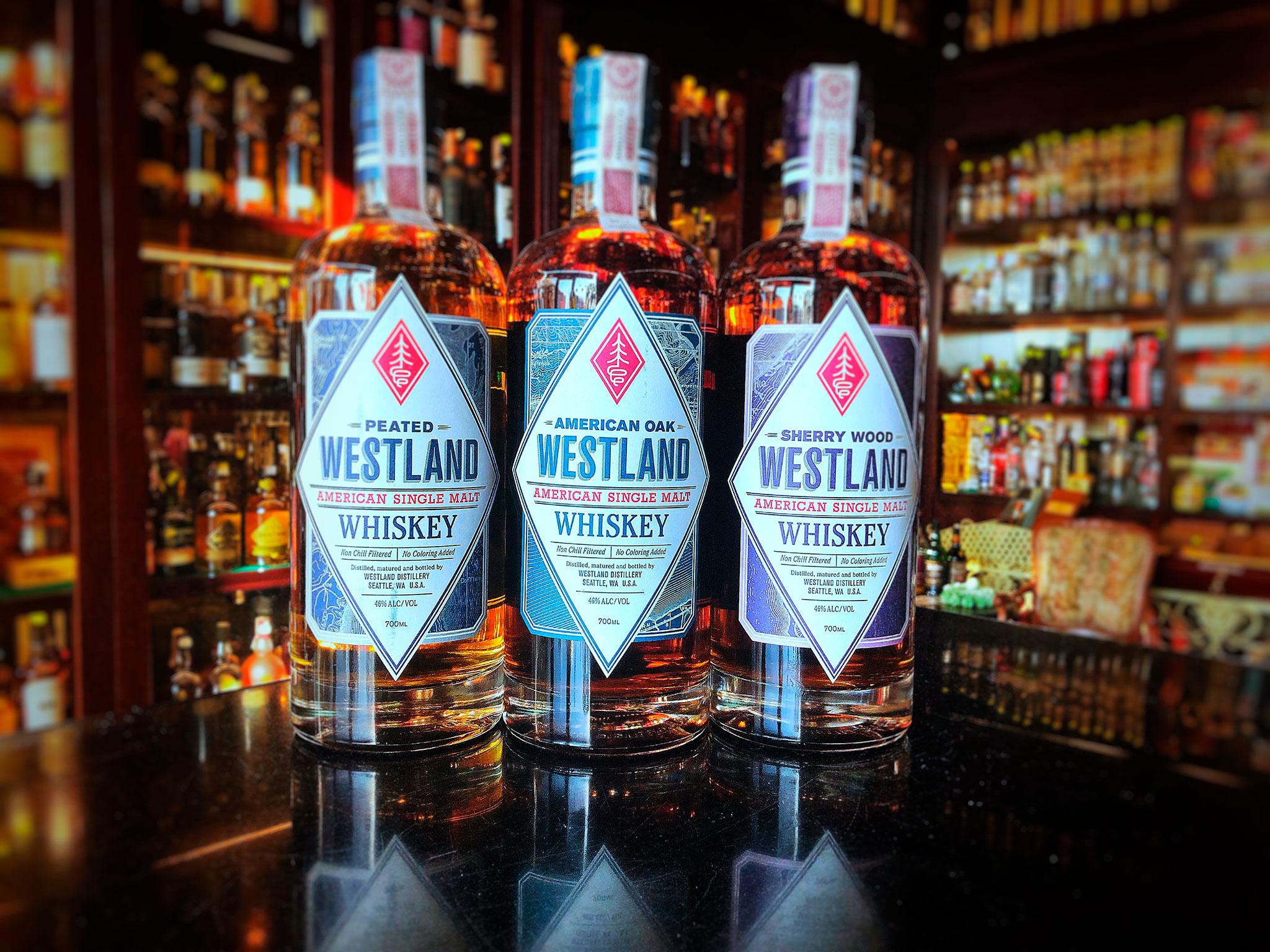 Westland single malt whiskey!