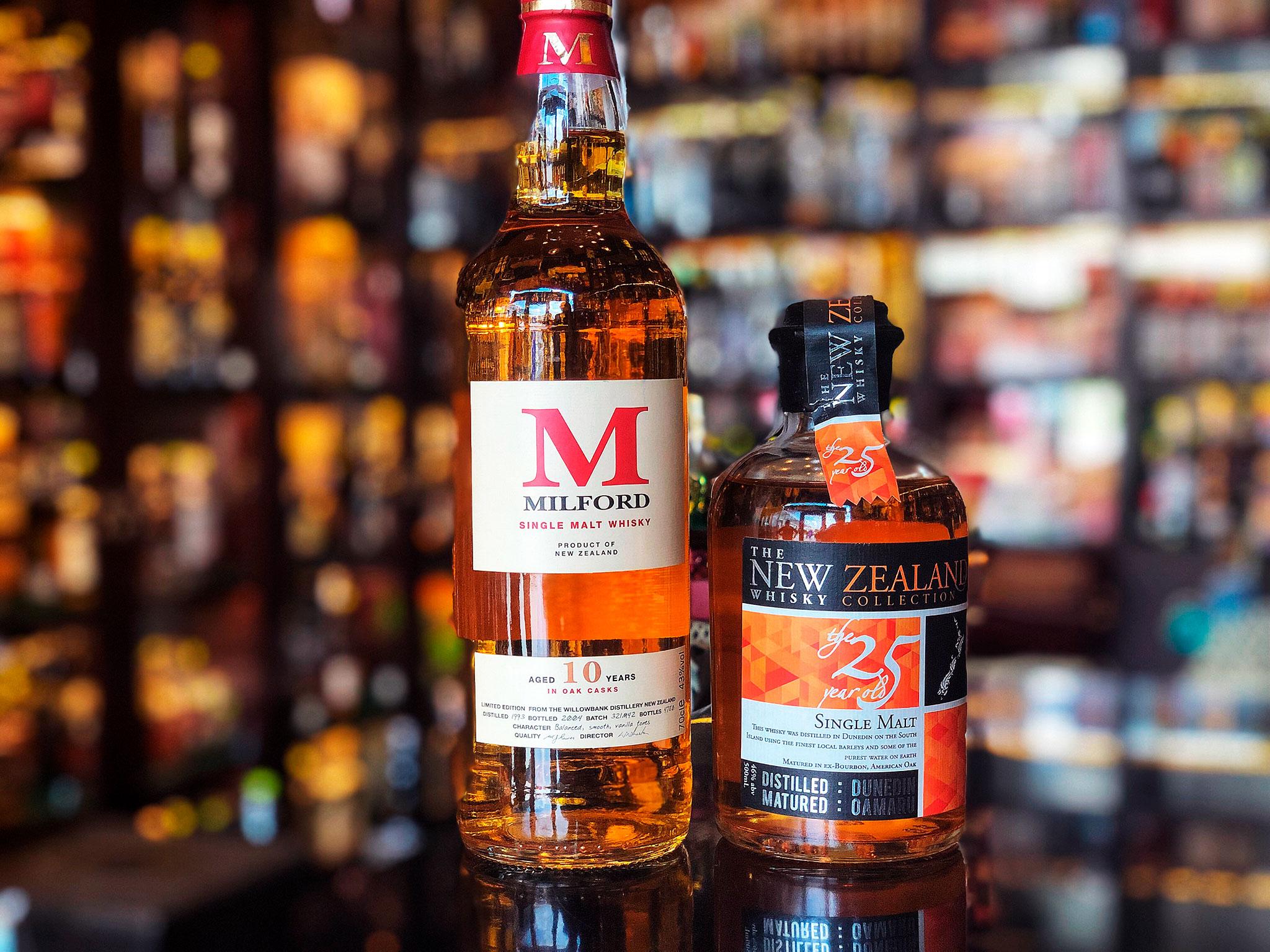 Whisky z kraju Maorysów, kraju długiej, białej chmury! - whisky w Nowej Zelandii