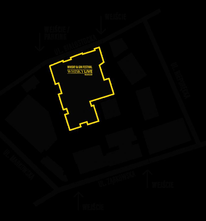 Whisky Live Warsaw - mapa dojazdu