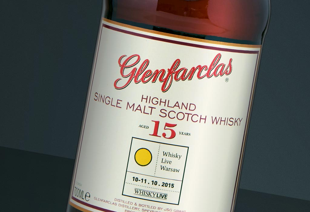 Glenfarclas 15 YO Whisky Live Warsaw