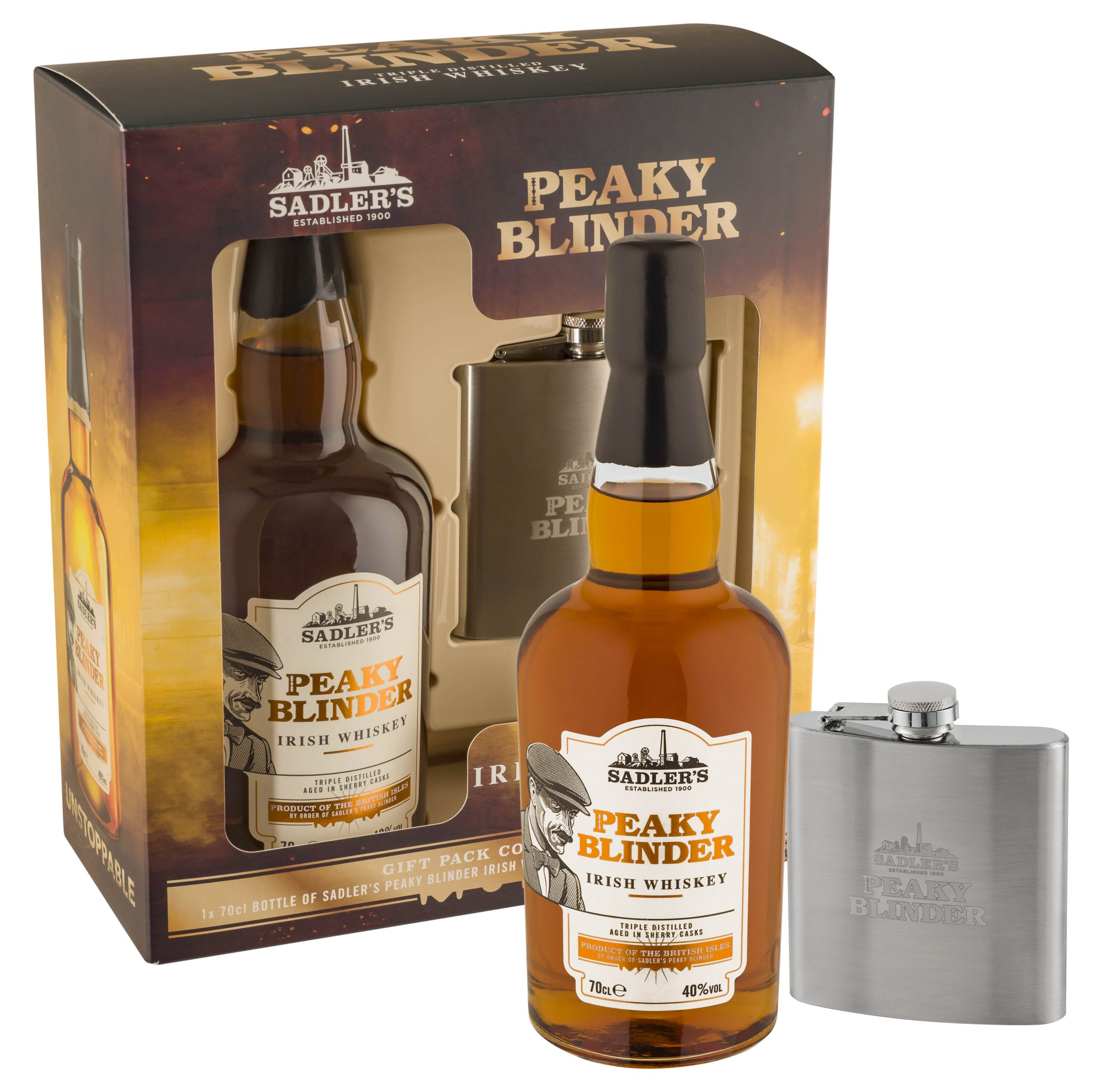 Rodzina alkoholi Whiskey Peaky Blinder z coraz szerszą ofertą