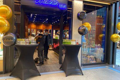 Ballantine's uruchomił kolejny specjalistyczny sklep w Warszawie