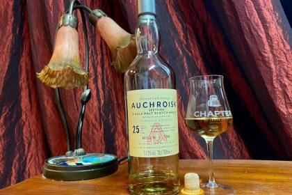 Whisky Auchroisk 25 YO - podszyta entuzjazmem branży szkockiej!