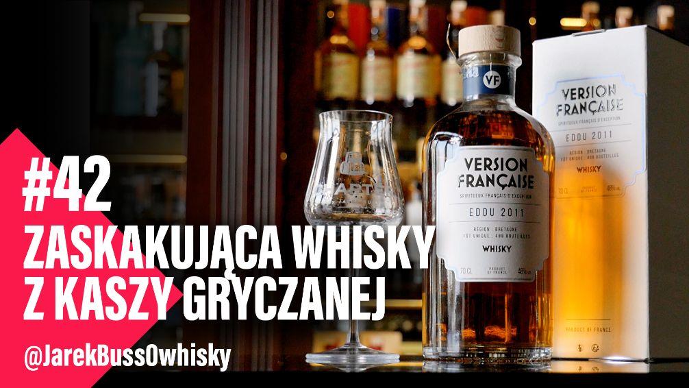 Zaskakująca whisky z kaszy gryczanej