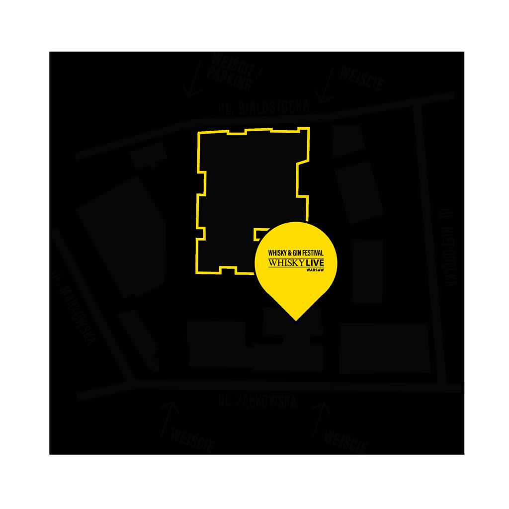 Whisky Live Wasraw 2021 - Mapa Dojazdu