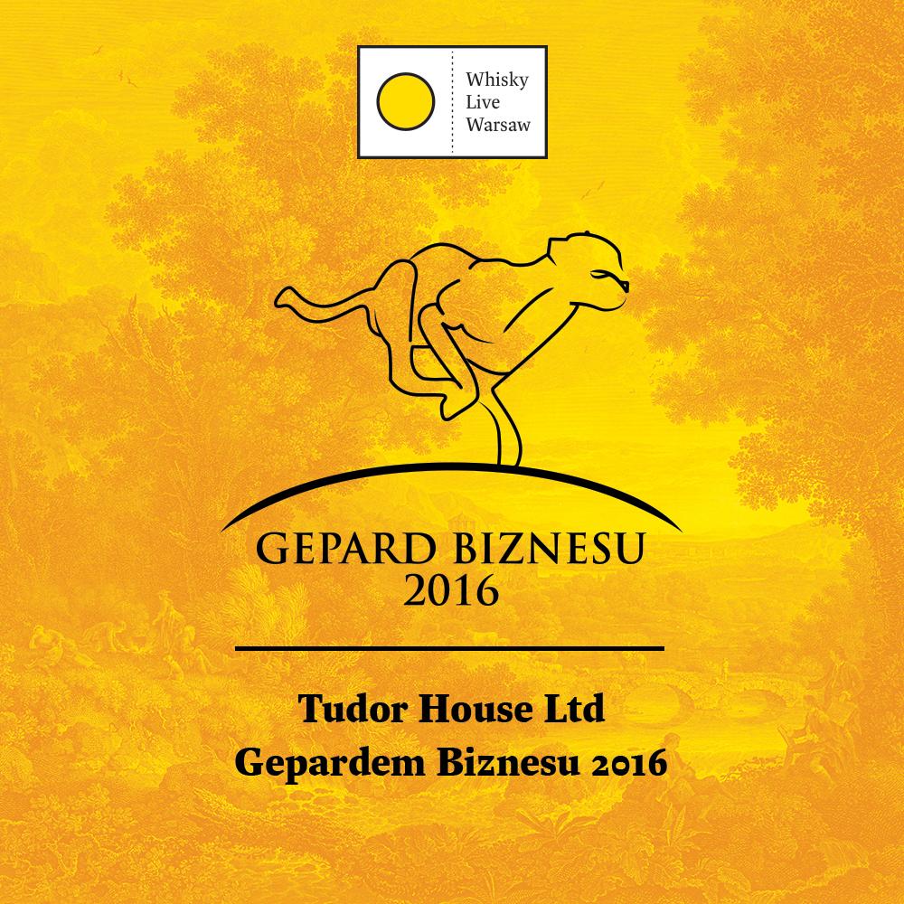 Gepard Biznesu  2016 dla Tudor House LTD